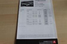 112536) Citroen C5 Kombi - Preise & tech. Daten & Ausstattungen - Prospekt 08/20