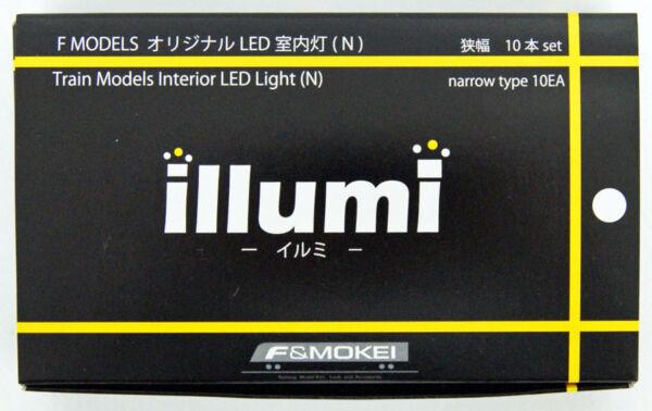 Abile F Modelli F5105 Illumi Treno Interno Luce (in)stretta Tipo 10ea (10 Pezzi
