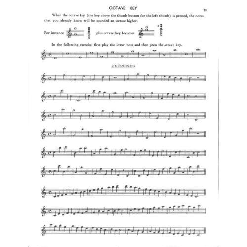 Jimmy Noten für Saxophon Saxophone Method Dorsey