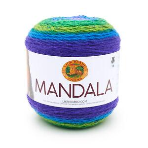 Lion Brand Yarn Mandala-Pavo Real