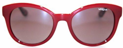 Vogue Eyewear Damen Sonnenbrille VO2795-S 2340//8H  53mm  weinrot Butterfly 109 1