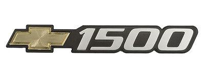 1999-07 Chevy Silverado Suburban 1500 Exterior Side Door Emblem with Gold Bowtie