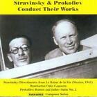 Stravinsky & Prokofiev Conduct Their Works von Igor Strawinsky,MOPO,Sergej Prokofjew (2012)