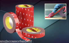 """3M Double Side/Sided Adhesive Tape Super Stronger Bonding -1""""(24mm) x 10 Meters"""