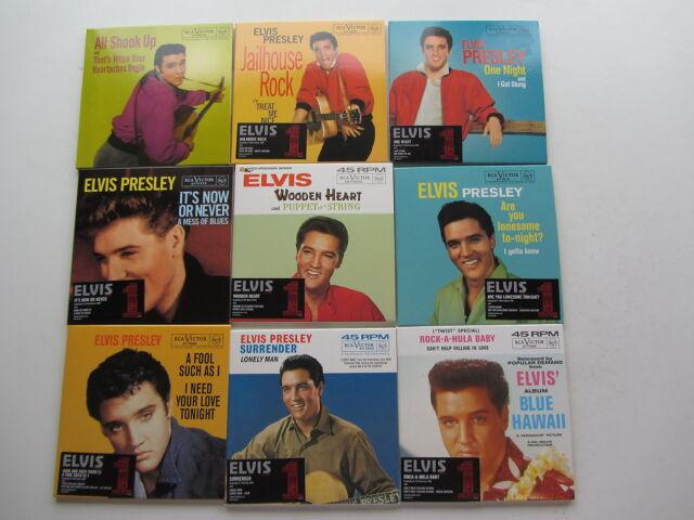 Elvis Presley 18 UK no 1s COMPLETE CD Caja