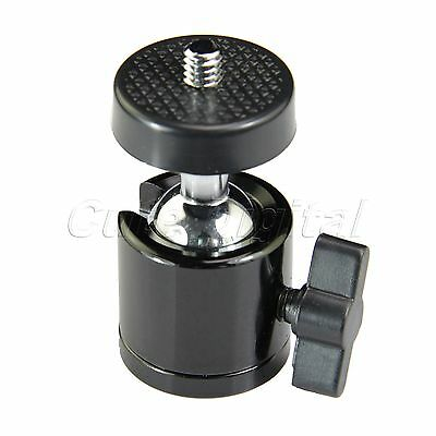 "1/4"" Metal Mini Tripod Ball Head Ballhead for Digital DSLR Camera Camcorder"
