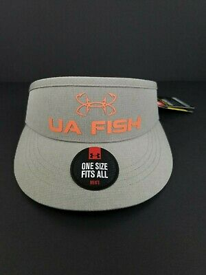 UNDER ARMOUR Mens UA Fish Hook Visor Adjustable One Size