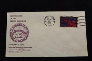 Navale-Cover-1970-Macchina-Cancel-Commissioning-Uss-Finback-SSN-670-3558