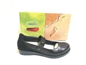 NEW-Women-039-s-NAOT-Honesty-Mary-Jane-Flat-05009-Black-W124-sm
