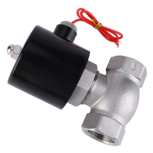 Stainless Steel Two-way Normally Closed Solenoid Valve For Air Water Steam
