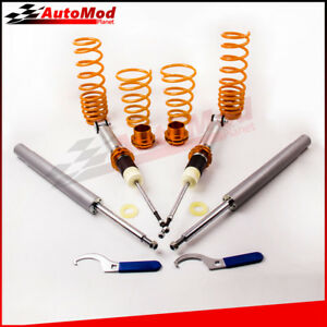 Coilover-Suspension-Absorber-Shocks-fit-for-BMW-Serie-5-E34-Touring-518i-91-98