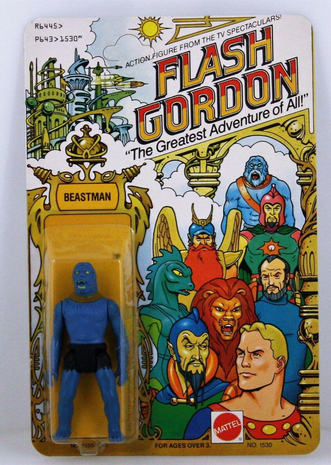 MATTEL  Flash Gordon  Beastman (1530)  Action Figure NEW 1979 UNPUNCHED