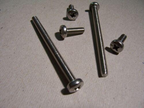 50St Linsenkopfschrauben DIN 7985 M3x16 V2A rostfrei