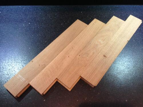 SALE Not Reclaimed Solid Oak Parquet Herringbone Character 300x70x22 mm