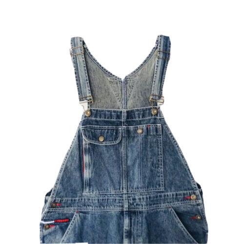 Vintage Tommy Hilfiger Jeans Bib Denim Overalls 19