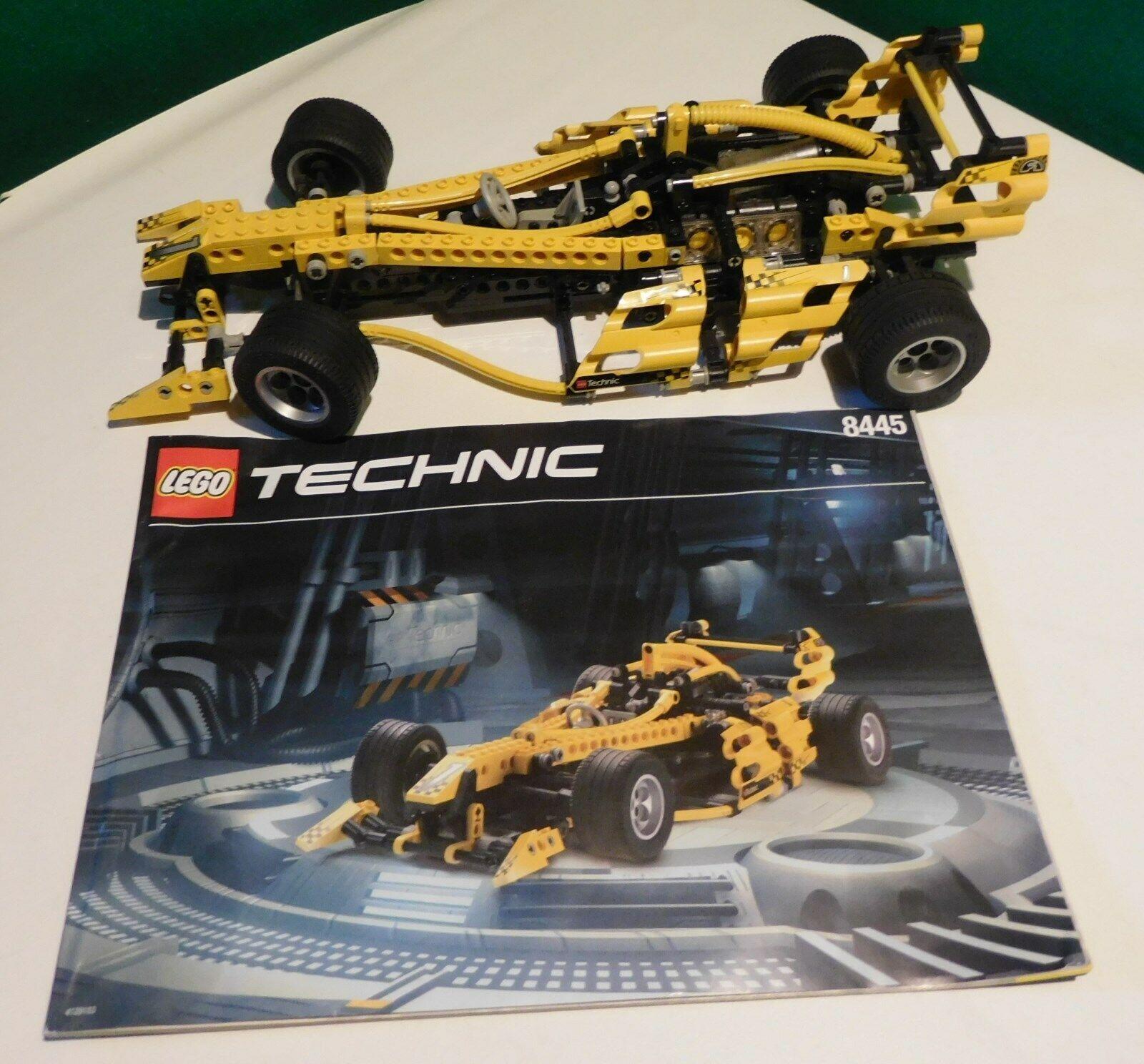 LEGO Technic 8445 - Rennwagen Indy Storm von 1999 mit Bauplan