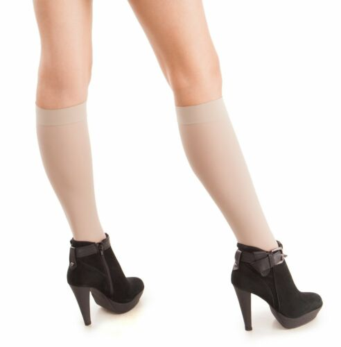 20-22 mmHg Compression Stockings GABRIALLA Sheer Knee Highs