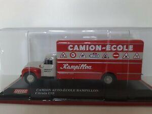 Miniature camion 1/43 , Citroen T55 bois et charbons