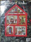 Bucilla 1994 Gallery of Stitches Christmas House Counted Cross-stitch Kit 33388