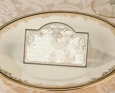 24 Vintage Gold Elegant Wedding Place Cards Bridal Shower Wedding Favors