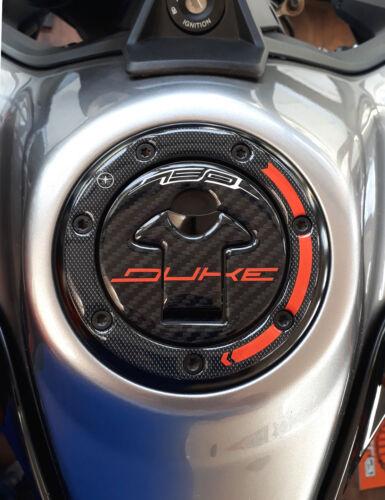 kit di 3 ADESIVI gel 3D PROTEZIONI SERBATOIO compatibili per moto KTM 790 DUKE