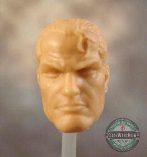 "ML188 Custom Cast sculpt male head use with 6/"" Marvel Legends Star Wars Figures"