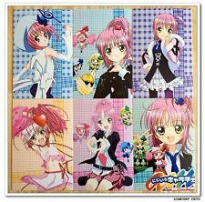 Shugo Chara Manga Anime Lot de 6 Cartes Postal IV  Amu Hinamori  しゅごキャラ!