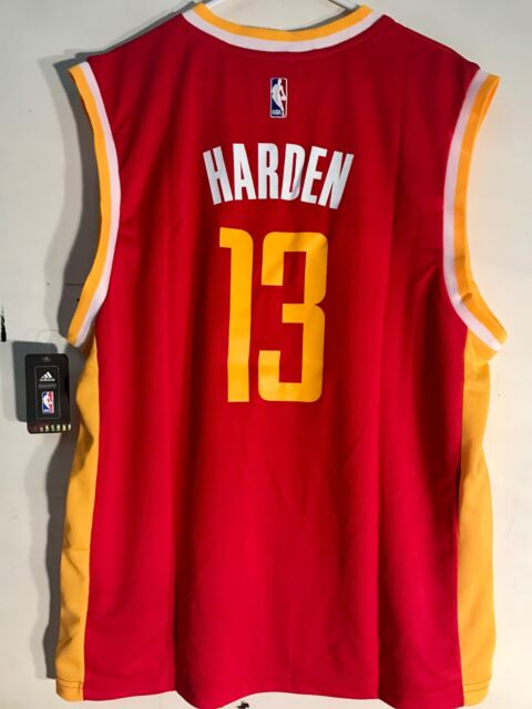 adidas NBA Jersey Houston Rockets James Harden Red Sz S for sale ... d98e9ea20
