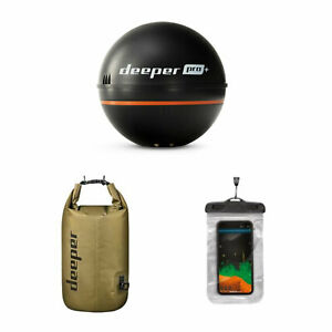 Deeper-Pro-Castable-Fish-Finder-Sonar-Bundle-with-Dry-Bag-and-Phone-Case