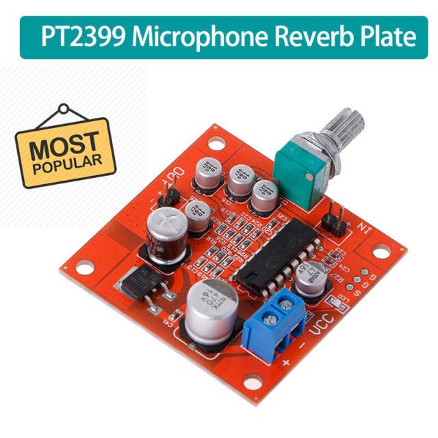 PT2399 Microphone Reverb Plate Reverberation Board No Preamplifier Function DE