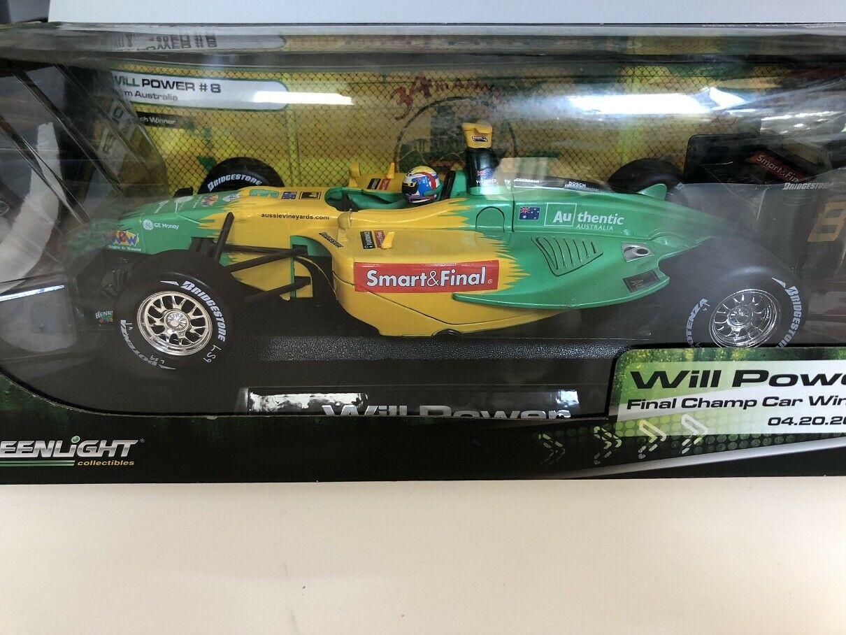 1:18 Greenlight Will Power Final Champ Car Winner