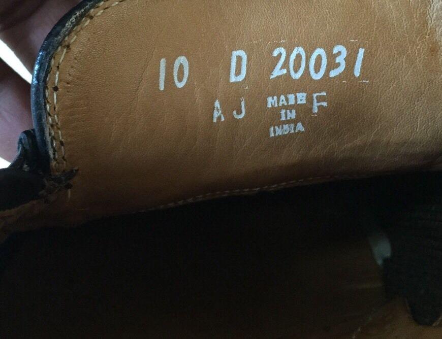 des mocassins en en en cuir florsheim cuir noir - hommes 10 d 20031 7966a4