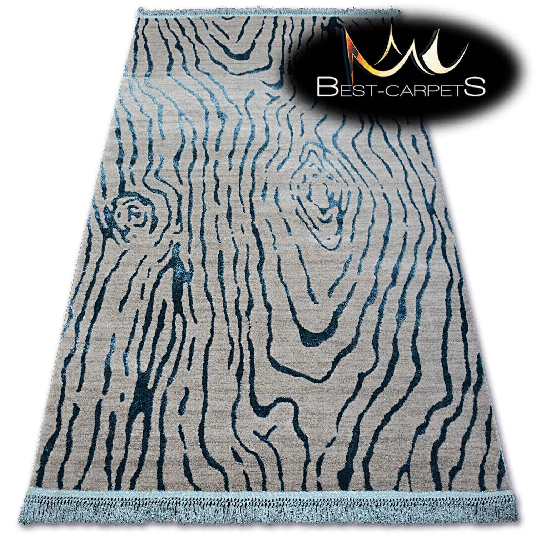 Sehr Weich Wolle & Acryl Teppiche Fransen   Manyas cm Dickes & Dicht Gewebt