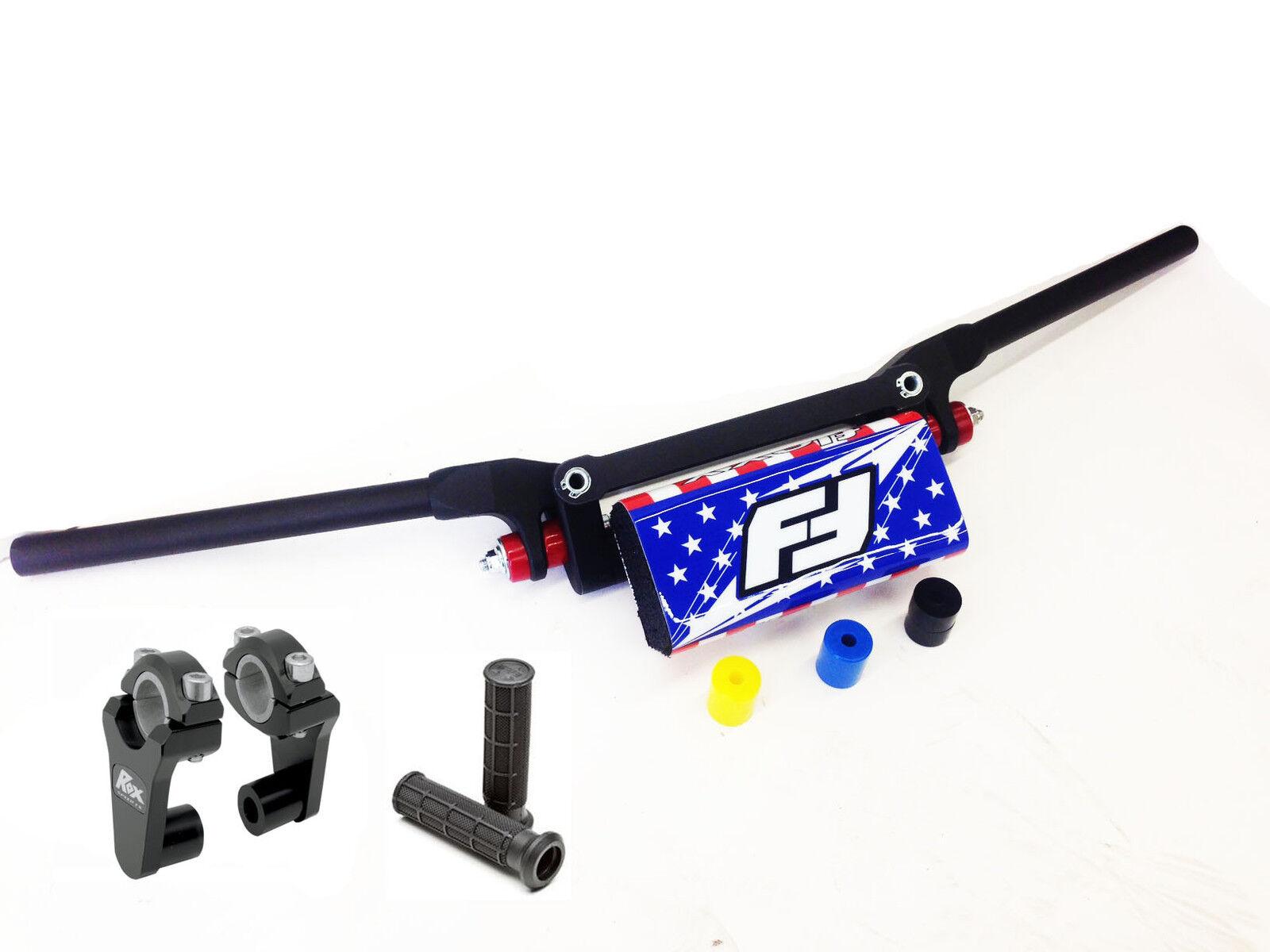 Fasst Flexx Flex 12 Grad Enduro Lenker USA Pad + Rox 2   Heber Schnell