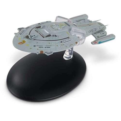 Kriegsschiff Voyager Metall Modell neu Star Trek Eaglemoss DEUTSCH #132