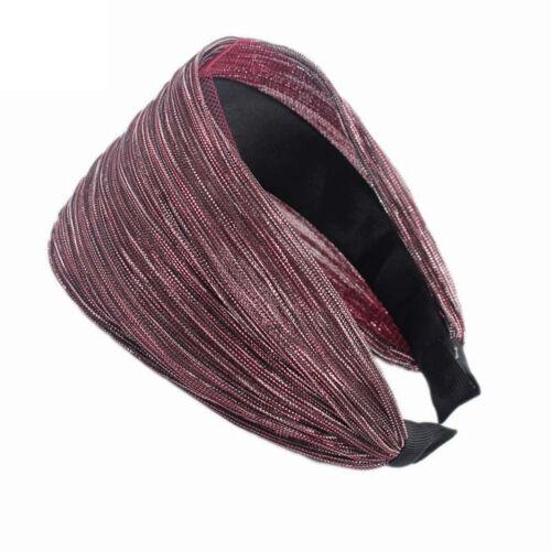 Damen Schleife Haarreif Stirnband Haarreifen Haarband Kopfband Haarschmuck  Band