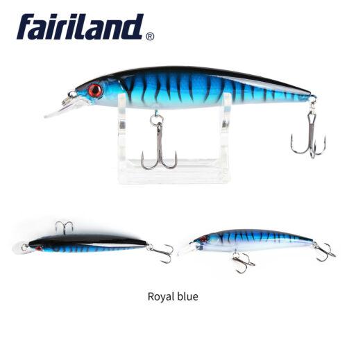 "13.5g//0.48oz 11cm//4.3/""minnow hardbait 3D EYES life-like fishing artificial baits"