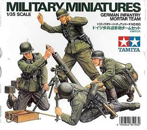 Tamiya-WWII-German-Infantry-Mortar-Team-in-1-35-35-193-039-NEW-039