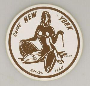 PRL) CAFFE' NEW YORK RACING TEAM ADESIVO COLLEZIONE STICKER COLLECTION AUFKLEBER