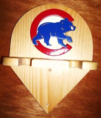 Bats Chicago Cubs Bat Rack To Display 2