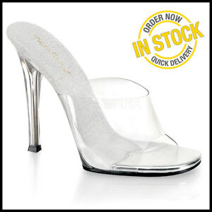 Talons Sandales Taille Compétition Bikini Hot Clear Gala Comp Chaussures 7 01 Posing New zUnPqOHY
