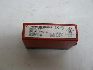LEUZE ELECTRONIC RK 93/4-60 L ENERGETIC LIGHT SCANNER | eBay