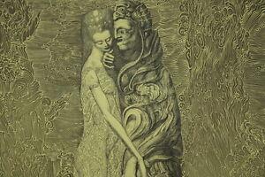 Ernst-FUCHS-geb-1930-Radierung-aus-dem-Zyklus-Samson-Kunst