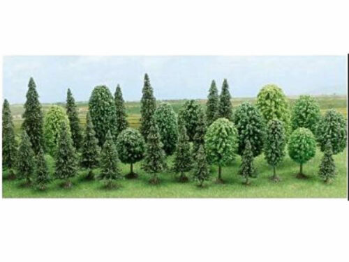 Busch 6489 reboisement feuillus arbres à feuilles caduques Tannen 30 arbres h0 NEUF