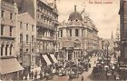 CPA ANGLETERRE THE STRAND LONDON