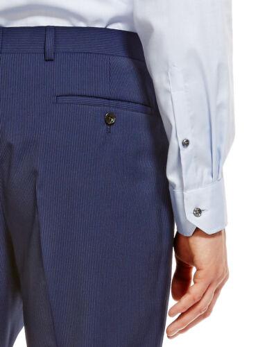 M/&s Collection Luxe COOL laine ™ Coupe Ajustée Superdry Flat Front Pantalon