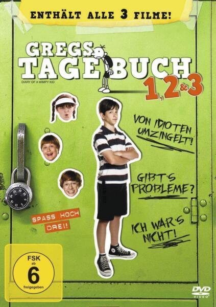 gregs tagebuch box 1 3 3 dvds 2013 g nstig kaufen ebay. Black Bedroom Furniture Sets. Home Design Ideas