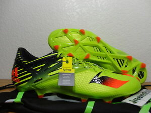 detailed look b4f81 6bdfa Image is loading Adidas-Messi-15-1-FG-AG-Soccer-Cleats-