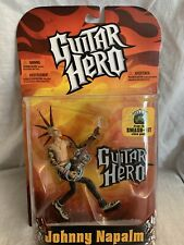 Johnn Napalm Capelli verdi Action Figure McFarlane NEW McFarlane GUITAR HERO