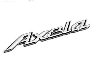 Details about Car Accessories Side Emblem AXELA Logo Rear Badge Fender  Sticker For Mazda 3